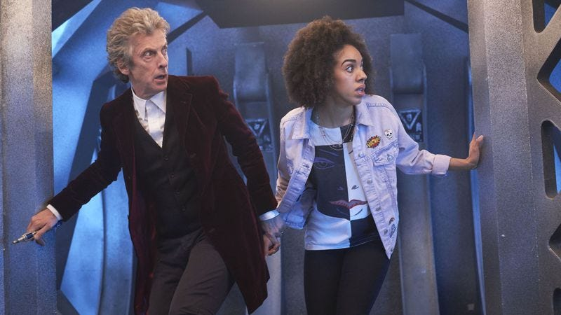 Illustration for article titled Doctor Who returns at long last, and it's got us a brand new companion
