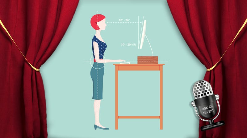 Illustration for article titled Ask an Expert: All About the Ergonomics of Standing Desks