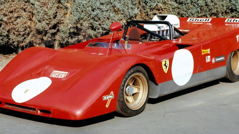 this forgotten race car has the biggest engine ferrari ever made. Black Bedroom Furniture Sets. Home Design Ideas