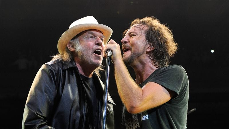 Neil Young will induct Pearl Jam into the Rock & Roll Hall of Fame