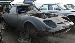 Illustration for article titled Junkyard Find: Opel GT