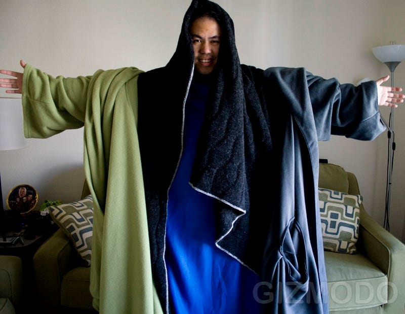 Illustration for article titled Ultimate Battle: The Snuggie vs. Slanket vs. Freedom Blanket vs. Blankoat