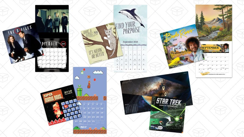 Up to 33% off calendars | ThinkGeek