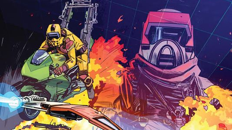 Illustration for article titled IDW Is Bringing M.A.S.K. Back to the World of Comics
