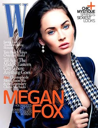 Illustration for article titled Megan Fox Doesn't Trust Girls; Brangelina Spends V-Day With Sean Penn