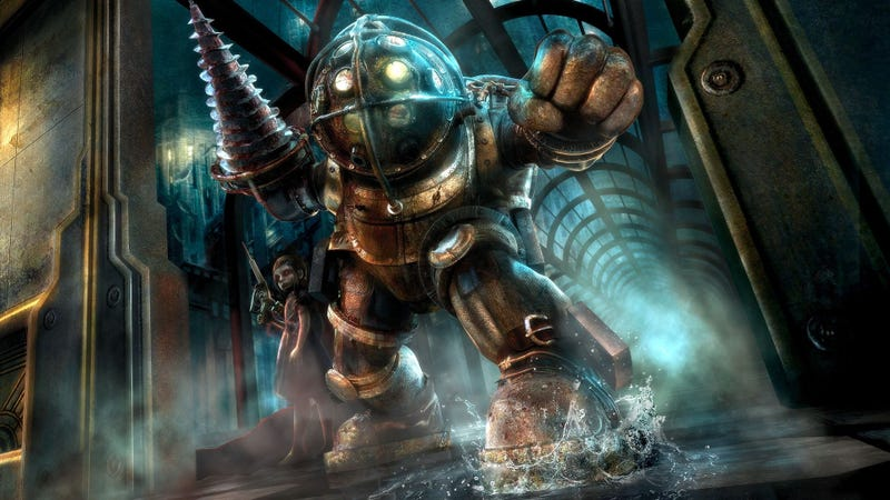 Illustration for article titled The Big Daddies Are The Best Part Of BioShock