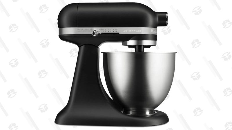 KitchenAid Artisan Mini (Black, White, or Silver) | $160 | Amazon