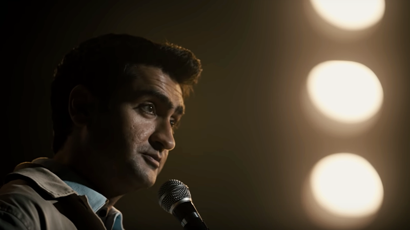 "Kumail Nanjiani in ""The Comedian."""