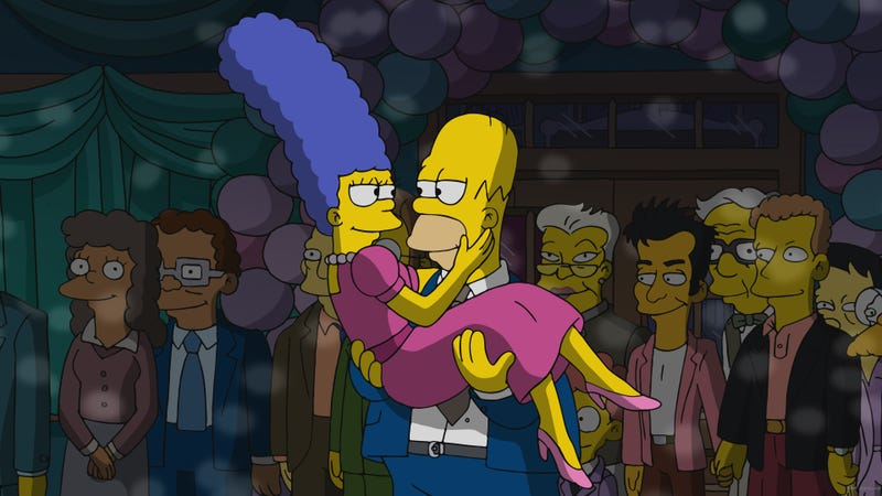 Illustration for article titled Netflix proves the near-final straw for Marge on a sweet Simpsons
