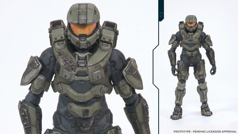 Illustration for article titled Your First Good Look at Halo 4's Master Chief Comes From...an Action Figure
