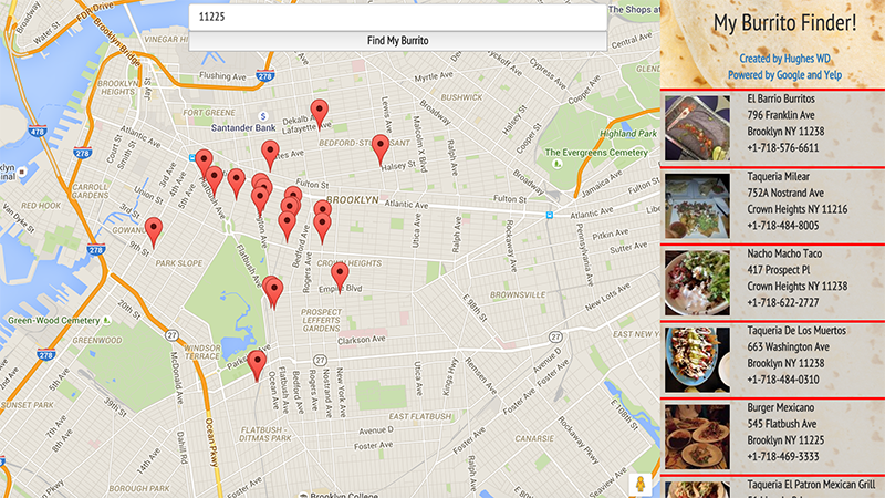 Illustration for article titled The Internet's Most Useful Tool Will Tell You the Closest Places to Buy a Burrito