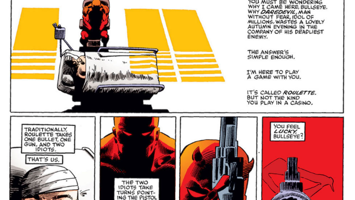 That Time Daredevil Played Russian Roulette
