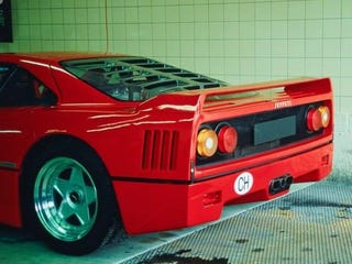 Illustration for article titled Swiss-spec F40