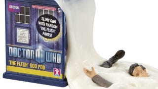 Illustration for article titled Is this the creepiest Doctor Who toy ever made?
