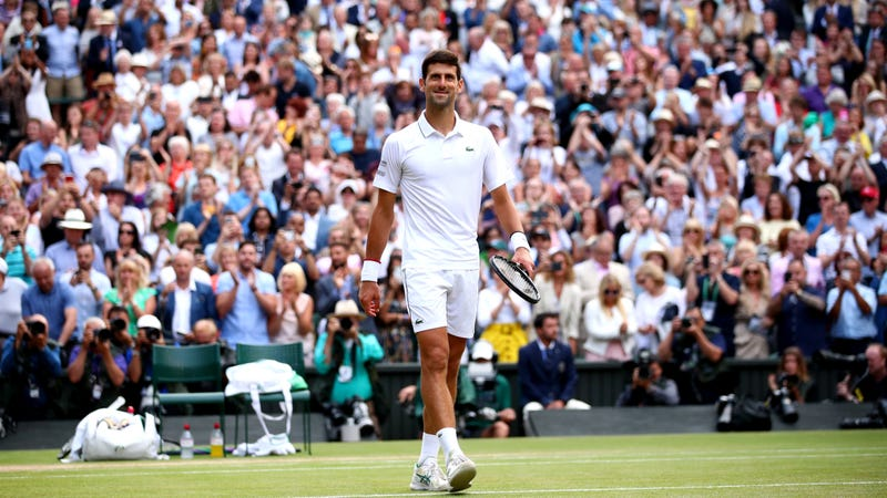 Illustration for article titled Novak Djokovic Outlasts Roger Federer In Five-Set Marathon To Repeat As Wimbledon Champion