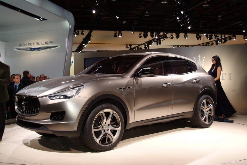 Illustration for article titled Maserati Kubang Concept Images