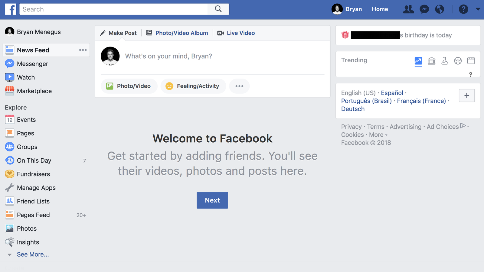 Facebook Wants to Overhaul Its News Feed—I Made Mine Empty Instead