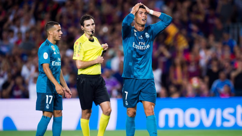 TAD Throw-Out Second Cristiano Ronaldo Appeal