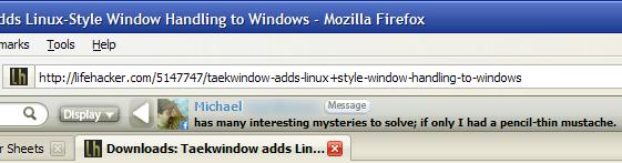 Friendbar Makes Twitter and Facebook Updates Easy in Firefox