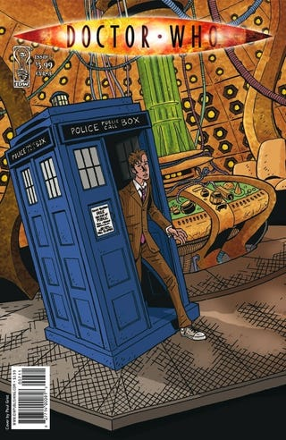 Illustration for article titled Doctor Who #7 Preview