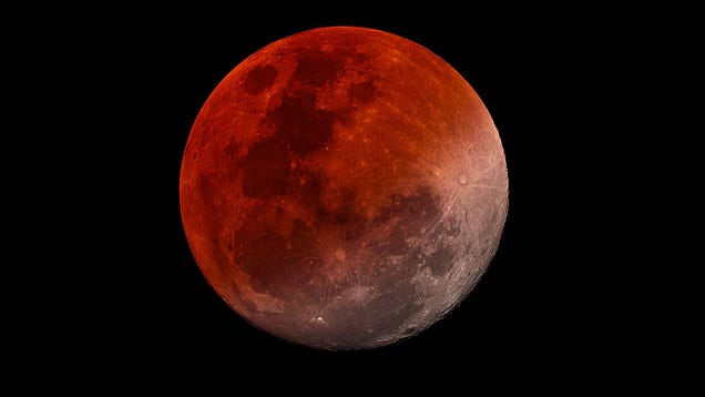 When to See This Month s  Super Flower Blood Moon