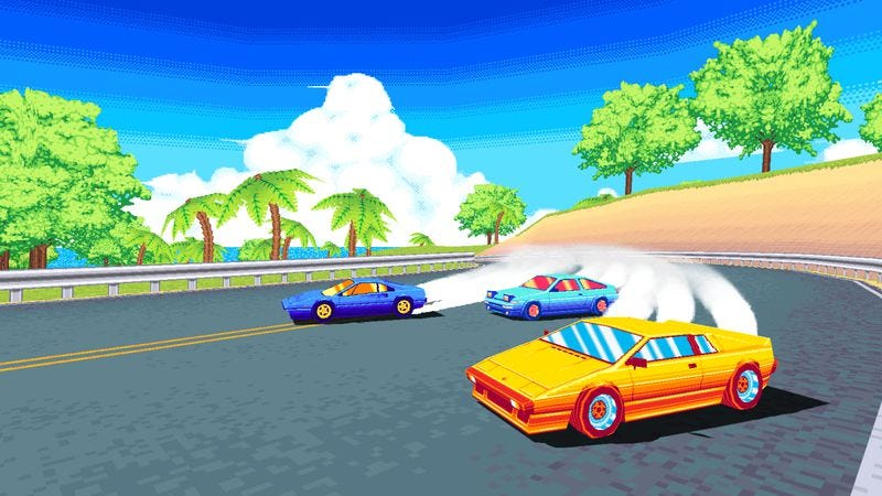 Illustration for article titled Three new racing games aim for the speed and style of their arcade ancestors