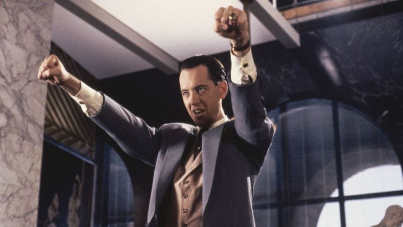 Richard E. Grant in Hudson Hawk