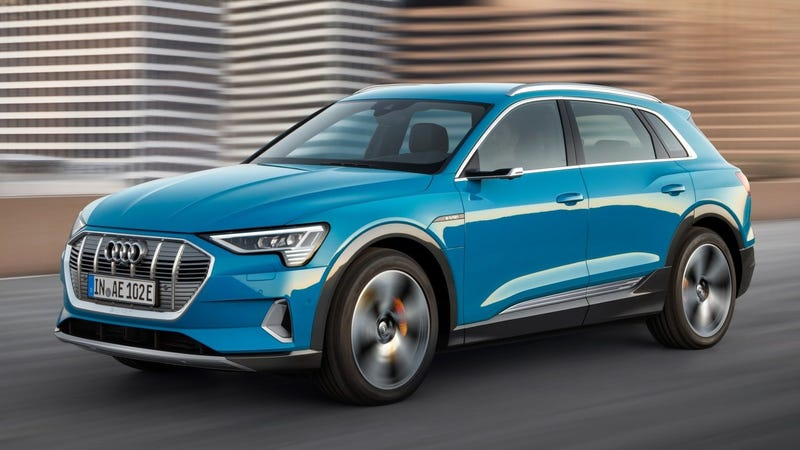 Ilration For Article Led The 2019 Audi E Tron Is A 74 800 All Electric