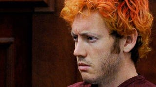 "Accused movie theater shooter James Holmes makes his first court appearance, on July 23, 2012, in Centennial, Colo. According to police, Holmes killed 12 people and injured 58 others during a shooting rampage at an opening-night screening of ""The Dark Knight Rises"" July 20, 2012, in Aurora, Colo.  R.J. Sangosti-Pool/Getty Images"