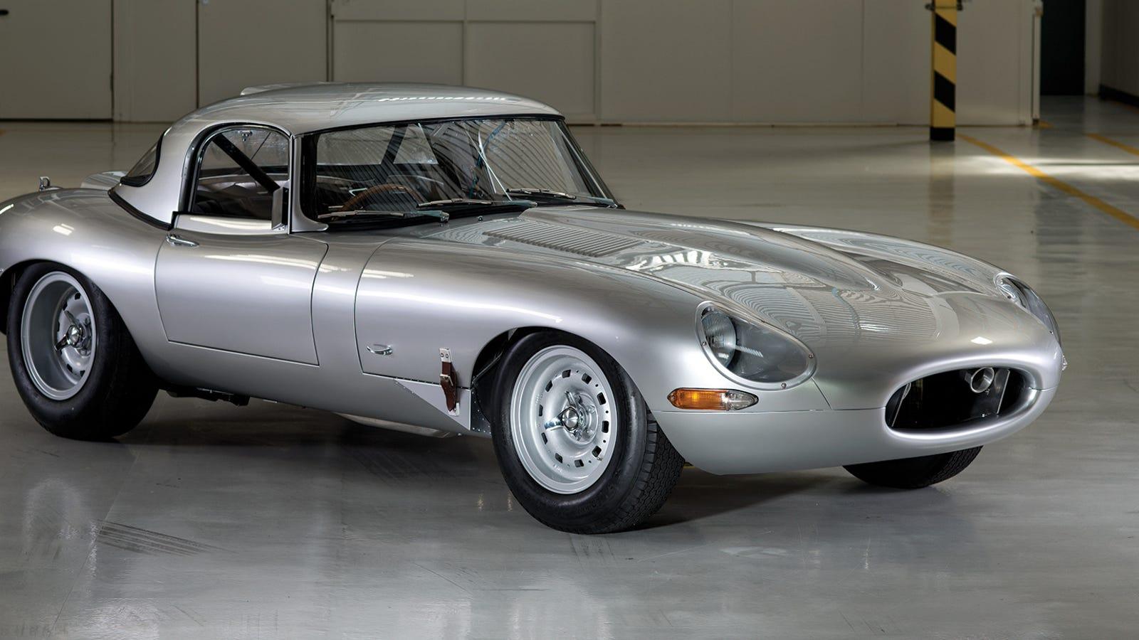 Take A Deep Dive Into Jaguar S 1 5 Million Lightweight E Type