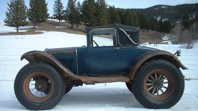The Oral History Of An Amazing 1930 Ford Model A OffRoad Mail Truck