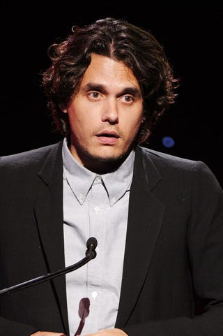 Illustration for article titled John Mayer Snubs Press, Tells Vagina Joke