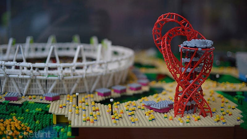 Illustration for article titled This Lego Olympic Park Is Just Like the Real Thing