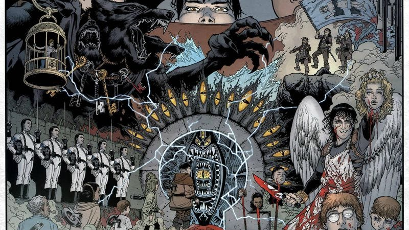 (Image: Locke And Key, Gabriel Rodríguez, IDW Publishing)