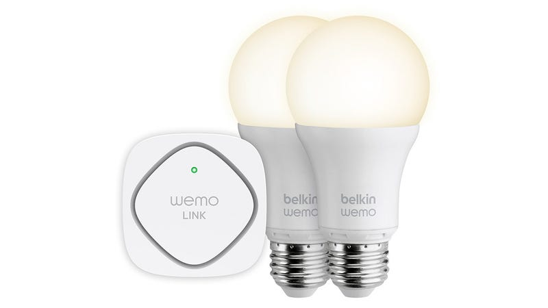 Illustration for article titled Belkin's WeMo Smart LED Bulbs Put the Light Switch On Your Phone