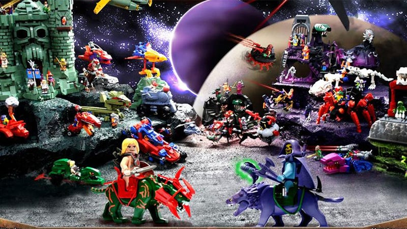 Illustration for article titled LEGO He-Man Is A Christmas Dream Waiting To Come True