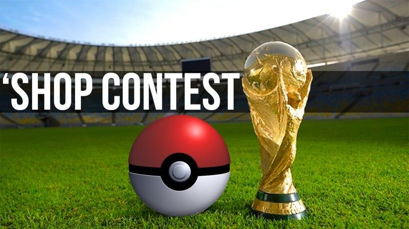 Illustration for article titled Kotaku 'Shop Contest: The Pokemon World Cup