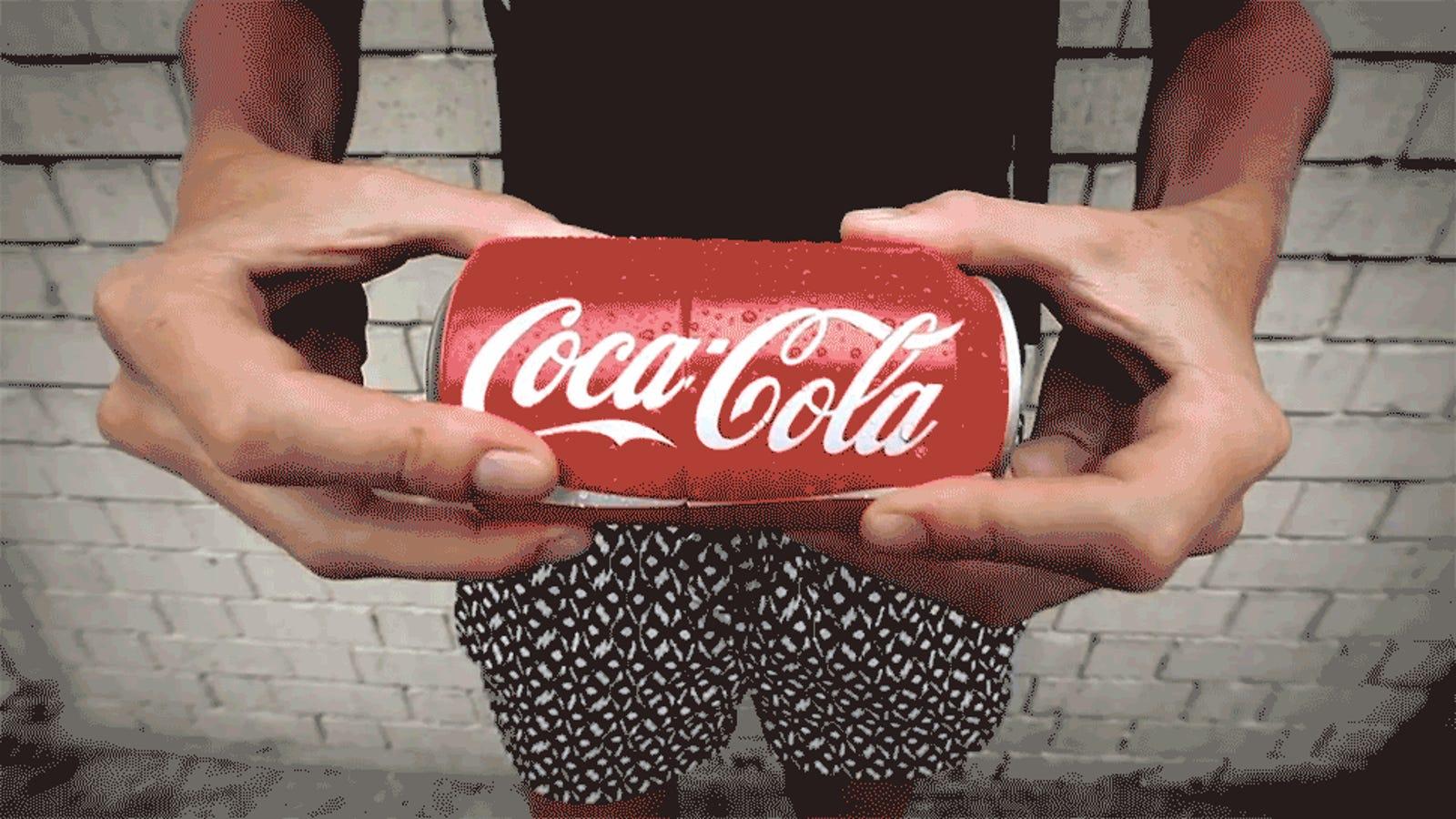 Una gran idea para compartir (higiénicamente) tu lata de refresco