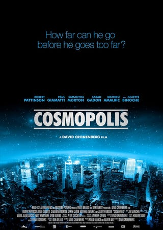 Illustration for article titled Cosmopolis Poster