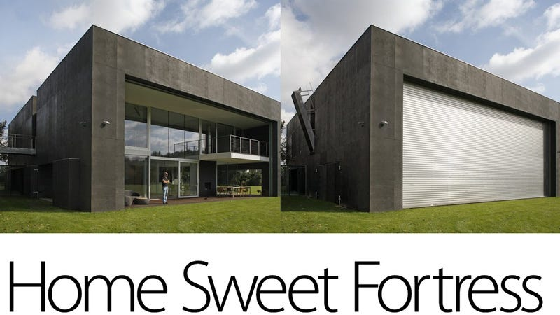 What Amazes Me About Safe House A Polish Home Designed By Kwl Promes Architects Is That It Manages To Be Beautiful Family Residence While Offering
