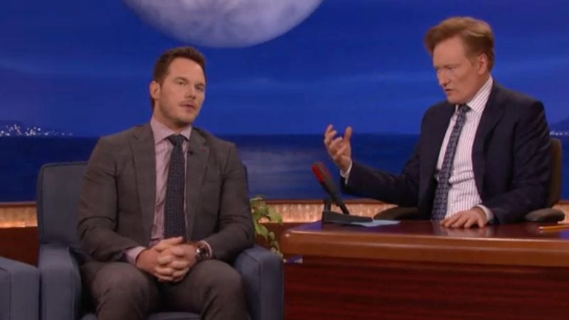 Illustration for article titled Chris Pratt says his new toilet is ruining his friendship with Nick Offerman