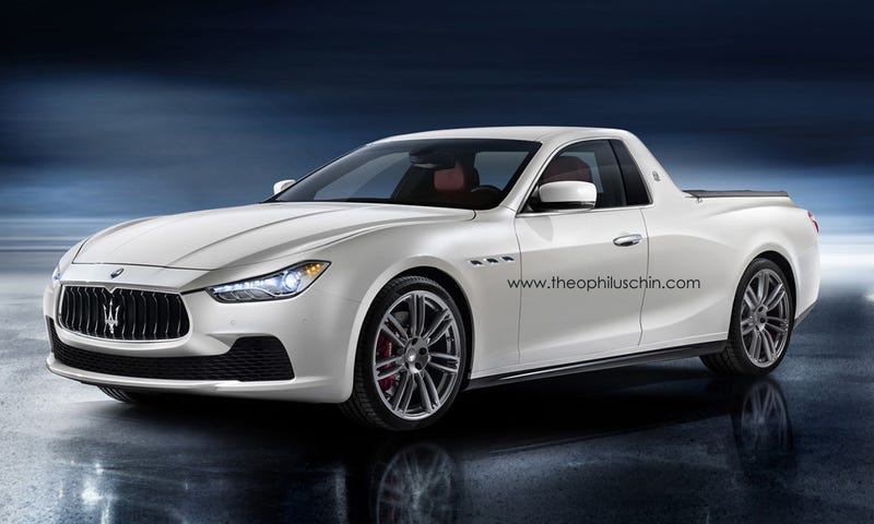 Illustration for article titled If Oppo did the Maserati Ghibli