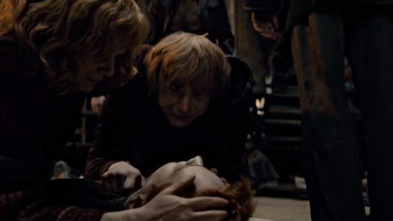 J.K. Rowling is sorry for killing Fred Weasley
