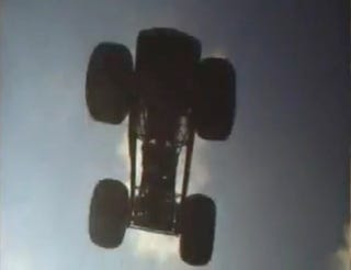Illustration for article titled World-Record Monster Truck Practice Jump Foiled By Gravity