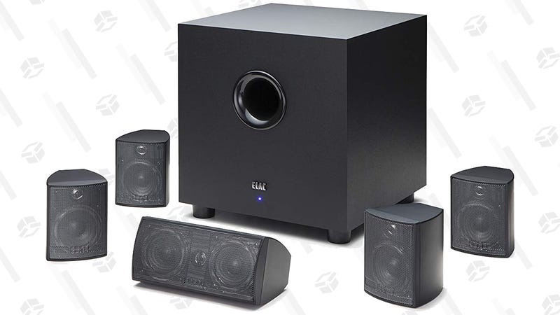 ELAC Cinema 5 Home Theater 5.1 Channel Speaker System | $200 | Amazon