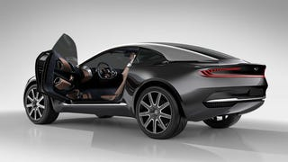 Illustration for article titled Aston Martin Just Raised More Than $300,000,000 To Build The DBX