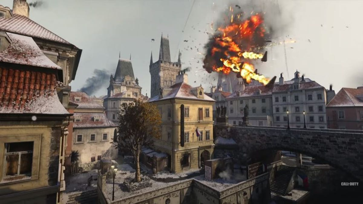 Resistance' DLC Brings Much-Needed Map Variety To COD: WWII