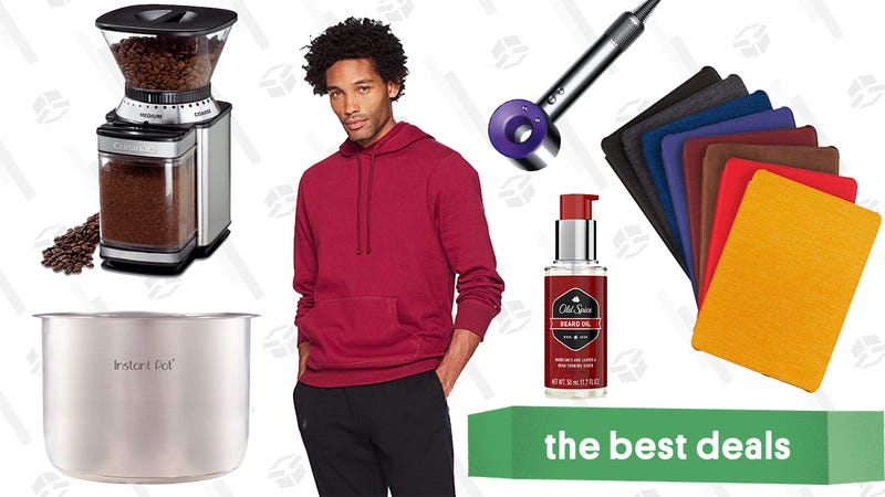Illustration for article titled Sunday's Best Deals: Kindle Sale, Philips Hue Bulbs, Dyson Vacuums, and More