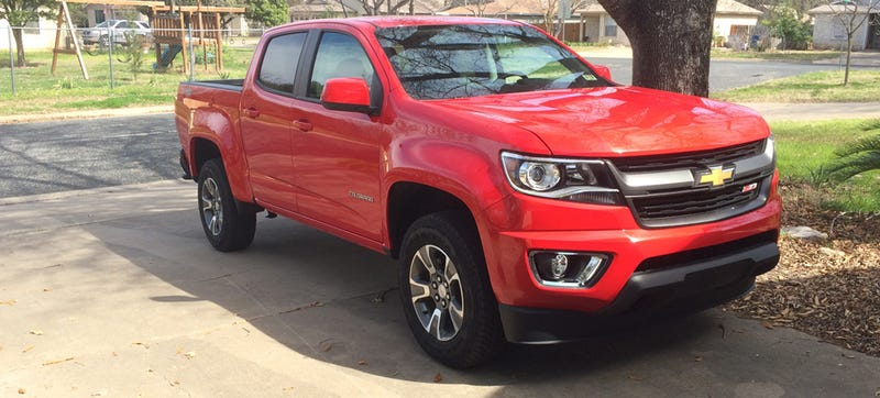 Illustration for article titled I Have A Chevrolet Colorado For The Next Week