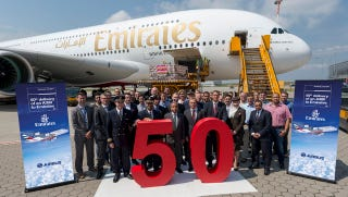 Illustration for article titled Emirates Now Has 50 Of The World's Largest Plane